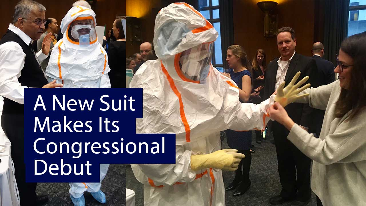 A new suit makes its congressional debut