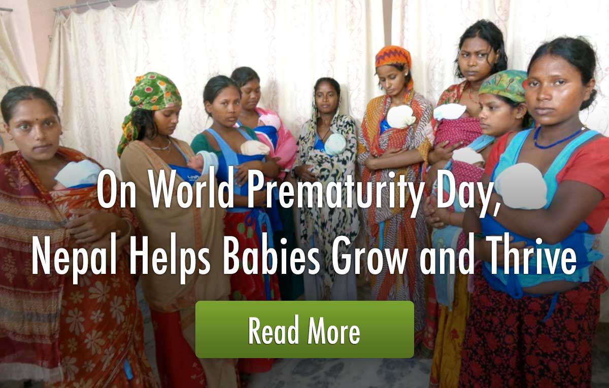 On World Prematurity Day, Nepal Helps Babies Grow and Thrive
